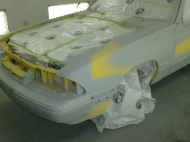 auto painting, vehicle painting